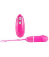 Smile Bullet - rádiós vibrációs tojás (pink)