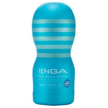 TENGA Deep Throat cool - mélytorok (puha)