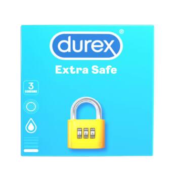 Durex extra safe - biztonságos óvszer (3db)