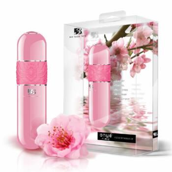 B3 Onyé Fleur - klasszikus rúdvibrátor (pink)