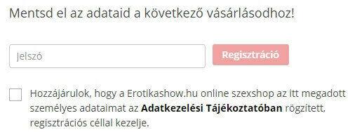 regisztráció