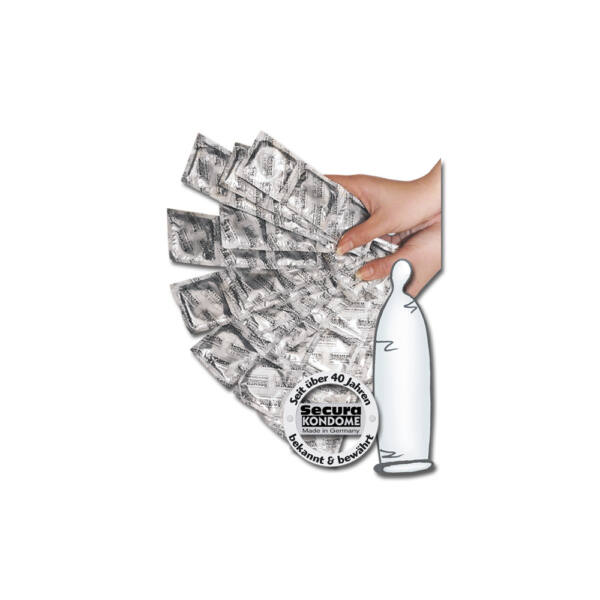 Óvszer - áttetsző (1000db)
