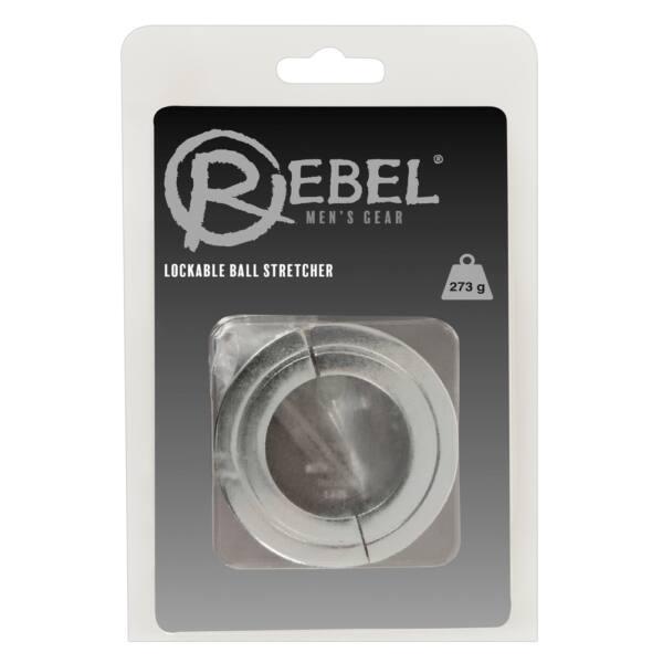 Rebel - súlyos acél heregyűrű és nyújtó (273g)