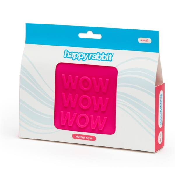 Happyrabbit - szex-játék neszeszer (pink) - kicsi