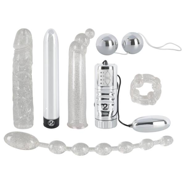 Glamour - vibrátoros készlet (7 részes)