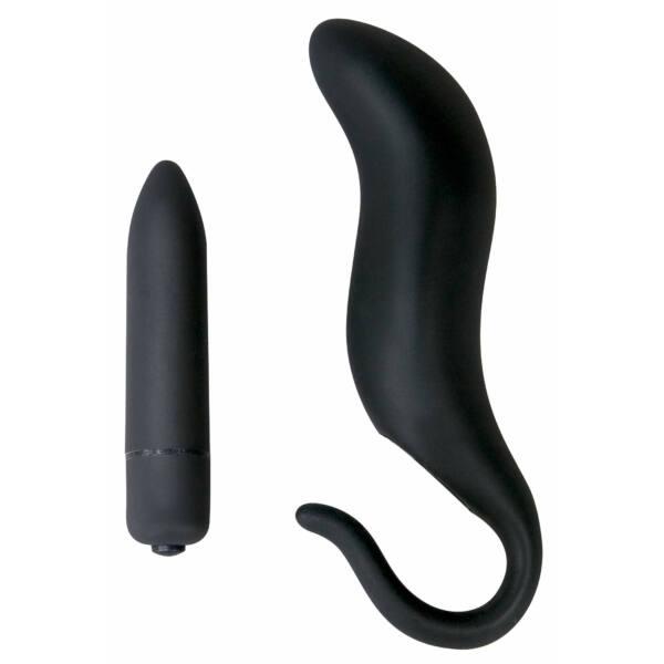 Black Velvet horog - anál vibrátor