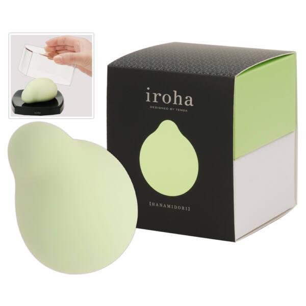 Iroha Midori - csikló vibrátor (zöld)