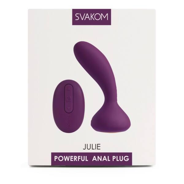 Svakom Julie - akkus, rádiós prosztata vibrátor (viola)