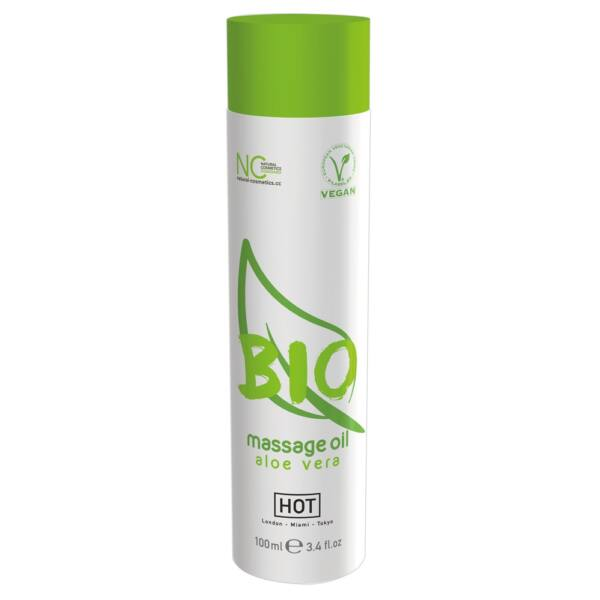 HOT BIO - vegán masszázsolaj - aloe vera (100ml)