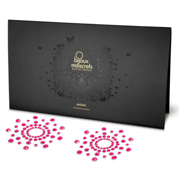 Csillogó gyémántok bimbómatrica (pink)