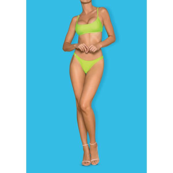 Obsessive Mexico Beach - sportos bikini (neonzöld)
