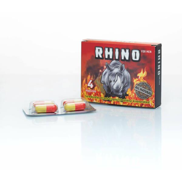 RHINO - term. étrendkiegészítő férfiaknak (4db)