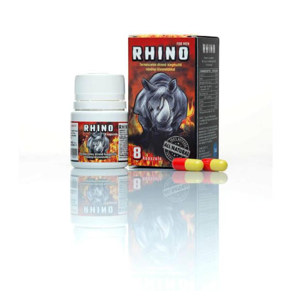 RHINO - term. étrendkiegészítő férfiaknak (8db)