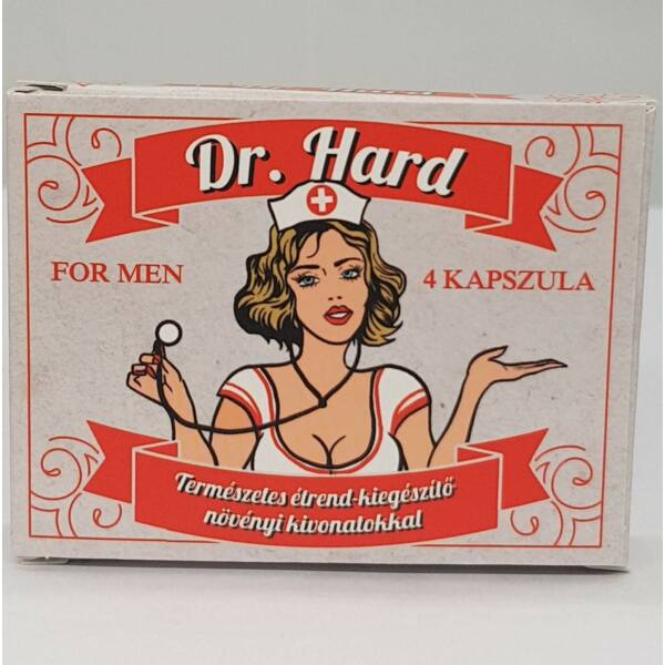 Dr. Hard for men - term. étrendkiegészítő férfiaknak (4db)