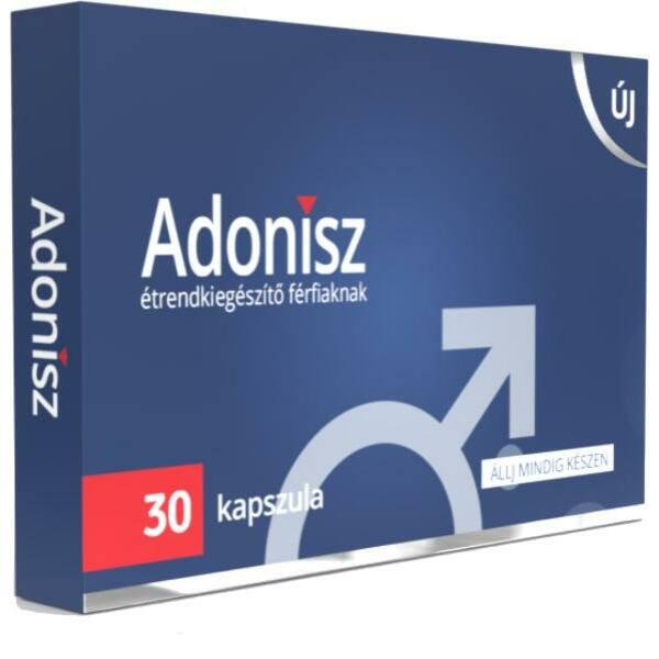 Adonisz étrendkiegészítő kapszula férfiaknak (30db)