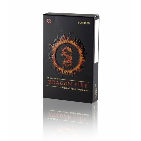 Dragon Fire - étrend-kiegészítő kapszula férfiaknak (6db)