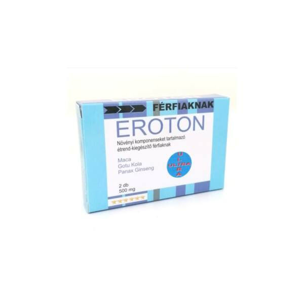 Eroton Ultra - étrend kiegészítő kapszula férfiaknak (2db)