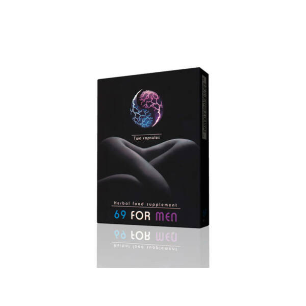 69 For Men - étrendkiegészítő kapszula férfiaknak (2db)