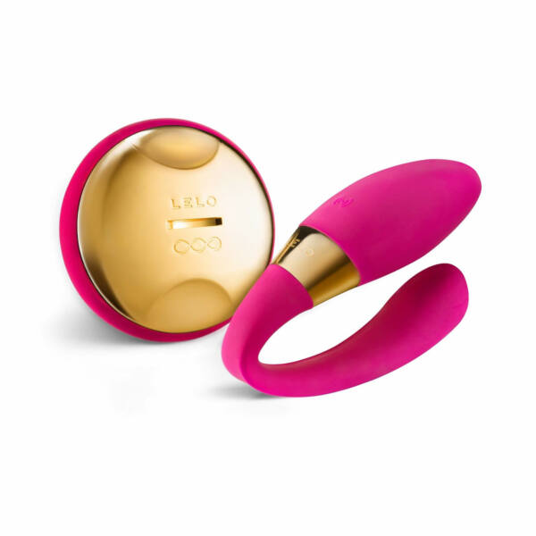 LELO Tiani 24K - akkus párvibrátor (pink)