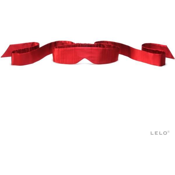 LELO Intima - selyem szemtakaró (piros)