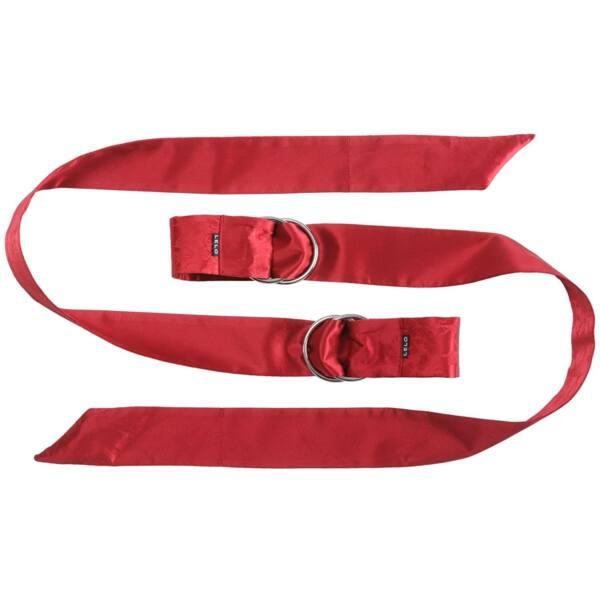 LELO Boa - selyem kötöző - 1 pár (piros)