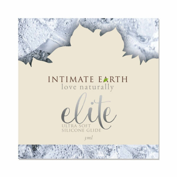 Intimate Earth Elite - szilikonos síkosító (3ml)