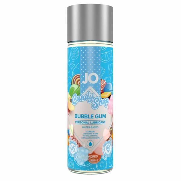 JO Candy Shop Bubble Gum - vízbázisú síkosító (60ml) - rágógumi