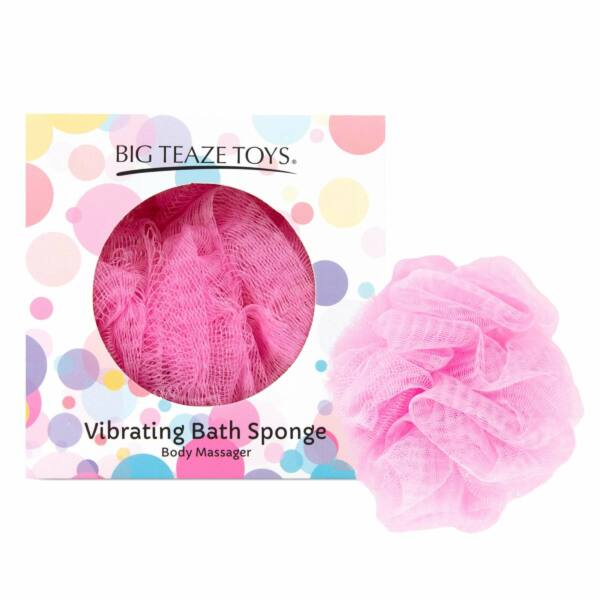 Big Teaze Toys - fürdőrózsa minivibrátorral (pink)