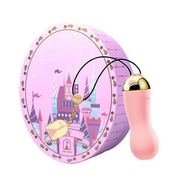 ZALO Baby Star - akkus, luxus vízálló vibrotojás (pink)